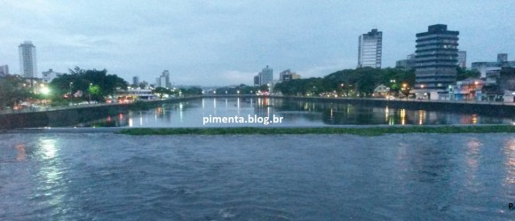 Cheia Rio Cachoeira Foto Pimenta www.pimenta.blog.br 23.01.2016