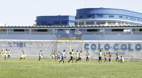 Jogadores intensificam treinos de olho no confronto com o Flu de Feira (Foto Alfredo Filho).