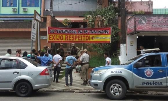 Terceirizados prometem nova ocupação nesta segunda (Foto Divulgação).