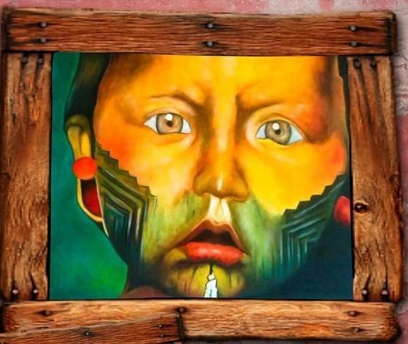 Exposição Índios na Janela fica em Ilhéus de 22 a 28 deste mês (Reprodução).