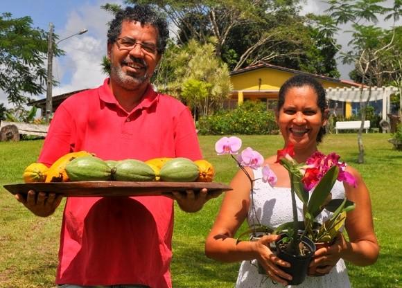 Gerson e Dadá investem na própria marca de chocolate (Foto Maurício Maron/Agência Sebrae).
