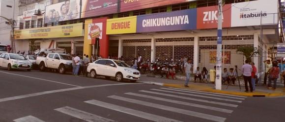 """""""QG"""" concentra maioria dos atendimentos de vítimas do mosquito em Itabuna (Foto Pimenta)."""