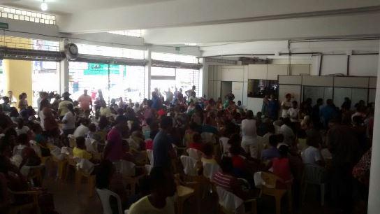 Paciente do QG contam com apoio dos voluntários (foto Oziel Aragão)