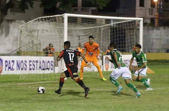 Rubro-Negro não saiu do empate com o Bode de Conquista (Foto José Nazal).