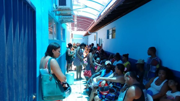 Unidade para pacientes com dengue, zika e chikungunya em Ilhéus (foto Carlos Santiago)