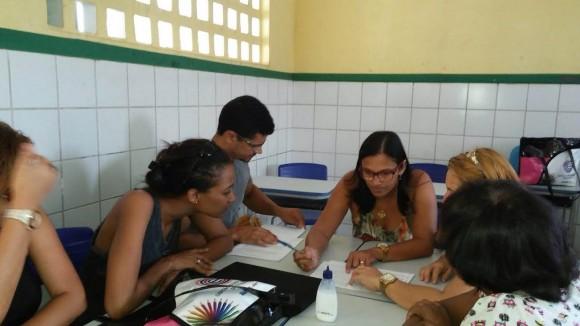 Comunidade escolar participa de jornada pedagógica no sul da Bahia (Foto Divulgação).