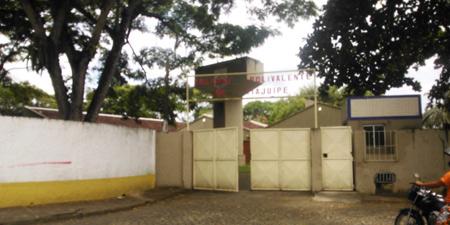 Fachada do Colégio Polivalente de Itajuípe (Foto SEC-BA).