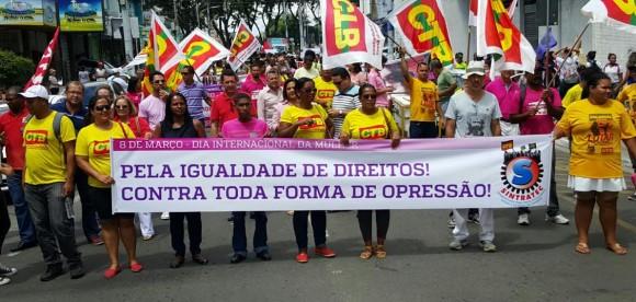 Centrais se uniram a movimento pela igualdade de direitos.