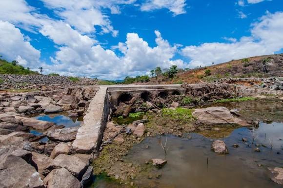 Barragem será construída no leito do Rio Colônia (Foto Lucas França/Secom Itabuna).