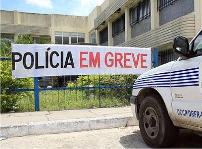 greve policia