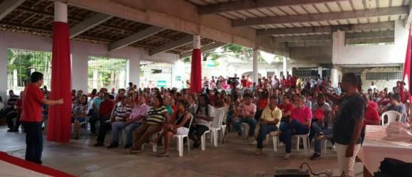 Geraldo reúne militância em evento de pré-campanha (Foto Divulgação).