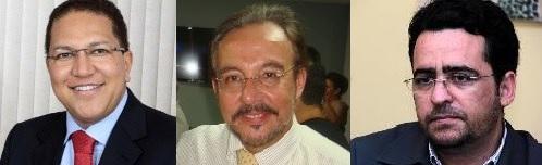 Augusto, Mangabeira e Roberto José  lançam pré-candidaturas em maio