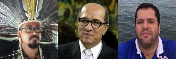 Ramón, Nazal e Gusmão passam a integrar a Rede