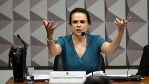 Janaína caiu em peça de senador do Rede.