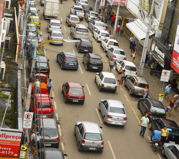 Carros não poderão circular pela Cinquentenário no dia 21 de maio (foto Pedro Augusto)