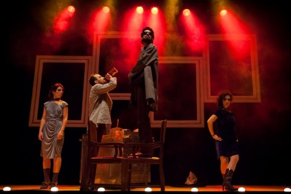 Circo Negro é uma das atrações trazidas para Ilhéus pela Cia Senhas de Teatro (Foto Maringas Maciel).