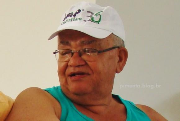 Edson Cruz trabalhava n´A Região desde a fundação do jornal (Foto Arquivo Pimenta)