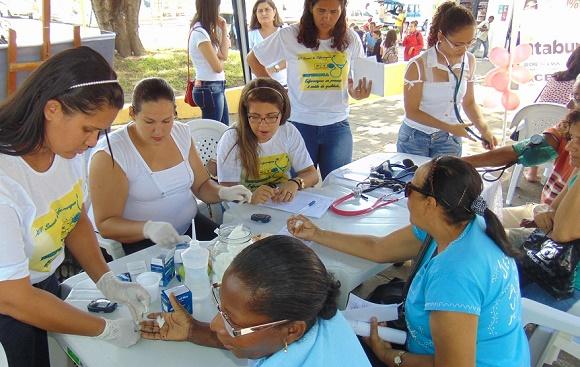 População teve acesso a serviços de saúde (Foto Divulgação).