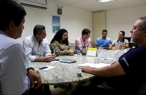 Encontro reuniu dirigentes da Embasa, município e sindicalistas (Foto Divulgação).