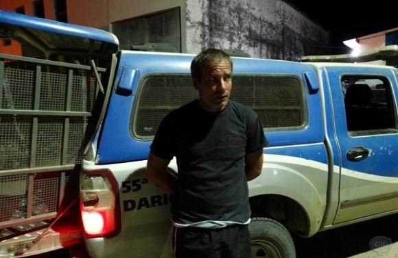 Abílio Araújo Neto foi preso tentando arrombar fórum (Foto Giro em Ipiaú).