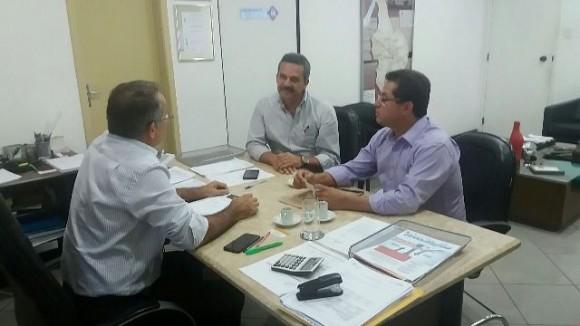 Aldenes e Vane fizeram pedido ao diretor-presidente da Cerb, Marcus Vinícius Bulhões