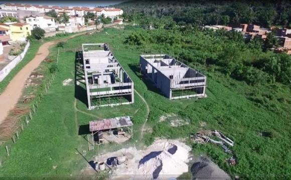 CEU está sendo construído no Nossa Senhora da Vitória (Foto Secom-PMI).