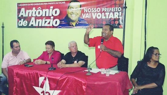 Tonho de Anízio lançou PGP na Câmara de Vereadores.