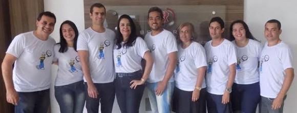Equipe envolvida no projeto de sustentabilidade.