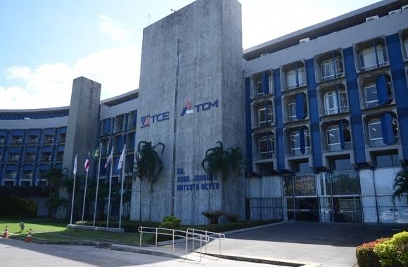 Prédio que abriga a estrutura do TCE baiano, onde serão analisadas as contas (Foto Divulgação).
