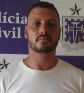 Vinícius foi preso por estupro de vulnerável (Foto PC-BA).