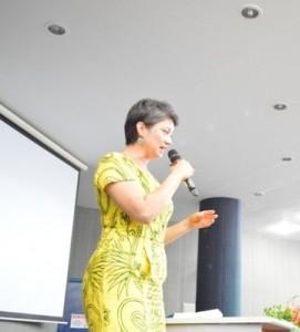 A professora Ana Paula Uetanabro é uma das coordenadoras da pesquisa (foto Jonildo Glória)