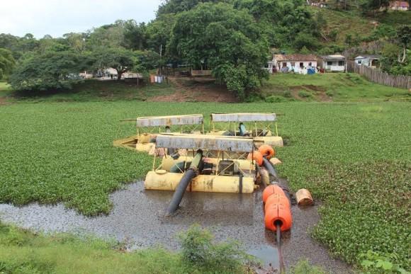 Captação de água é interrompida após pane elétrica (Foto Divulgação).