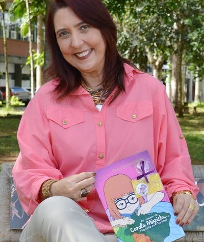 Maria Luiza é autora de livro sobre migração (Foto Victor Rezende/Editus).