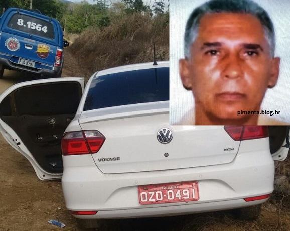 Táxi com o corpo de James no porta-malas foi encontrado em estrada para Ilhéus.