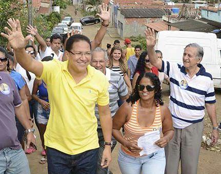Augusto participa de caminhadas e reuniões nesta sexta -feira.