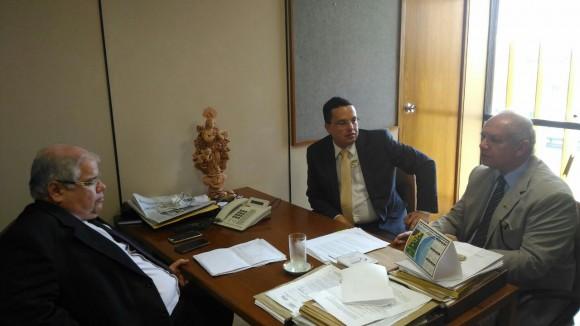 Lúcio Vieira, Pedro Arnaldo e Sérgio Murilo (Foto Divulgação).