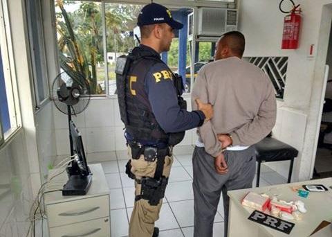 Presidiário foi preso pela PRF em Camacan.