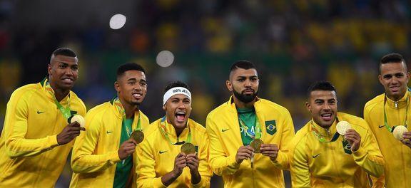 Seleção Brasileira conquistou ouro neste sábado (Reprodução Agência Brasil).
