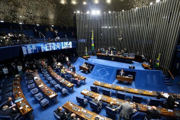 Votação do impeachment ocorrerá às 11h, no plenário do Senado (Foto Marcelo Camargo/Agência Brasil).