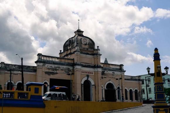 Estação de Cachoeira, no recôncavo baiano (Foto Jaqueline Cerqueira).