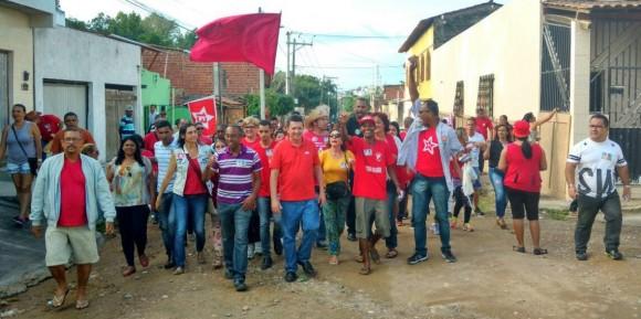 Geraldo terá caminhada na Mangabinha e reunião política.