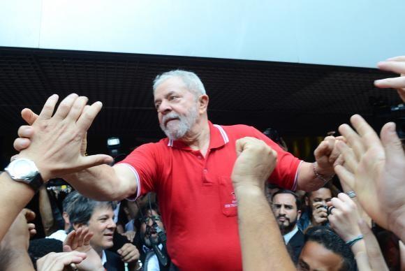 Lula responde a denúncia oferecida contra ele pelo MPF (Foto Rovena Rosa/AB).