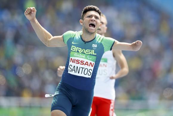 Petrucio bateu recorde mundial e faturou ouro (Foto Agência Brasil).