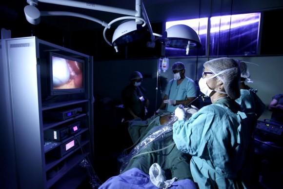 Mutirão de cirurgias é realizado pela Sesab (Foto Elói Corrêa).