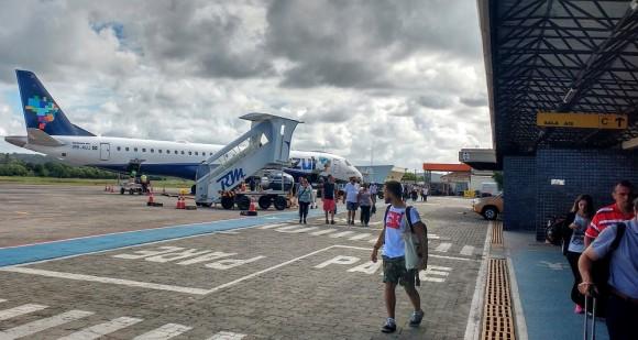 Aeroporto de Ilhéus receberá voos extras entre dezembro e janeiro (Foto Pimenta).