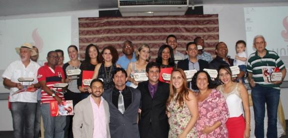 Profissionais e veículos foram premiados e homenageados ontem (Foto Divulgação).