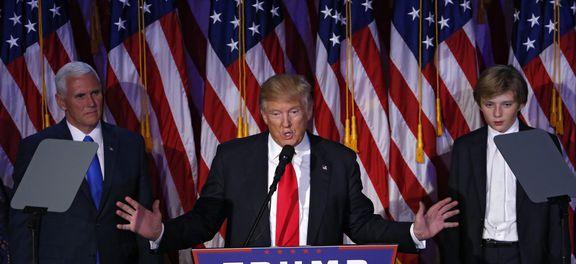 Trump assume presidência dos Estados Unidos  (Foto Shawn Thew /EPA/Lusa).