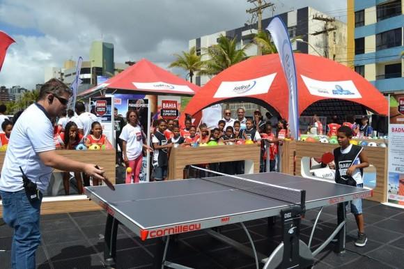 Bahia Território Esportivo envolve alunos das redes pública e particular.