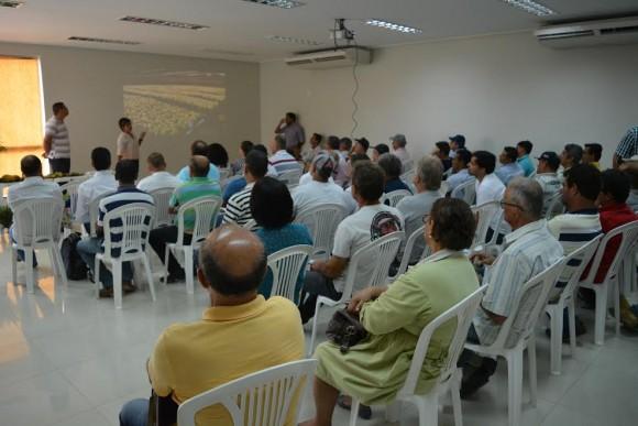 Produtores participam de atividades de extensão no extremo-sul.