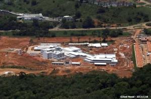 Hospital do Cacau está com 90% das obras físicas concluídas (Foto José Nazal).